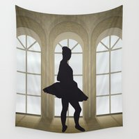 ballet Wall Tapestries featuring Ballet by Design4u Studio