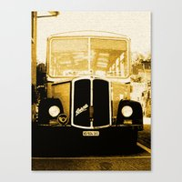 car Canvas Prints featuring Car by Mikhaelle A.