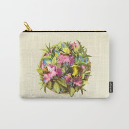 Flowers and Birds 1 Carry-All Pouch