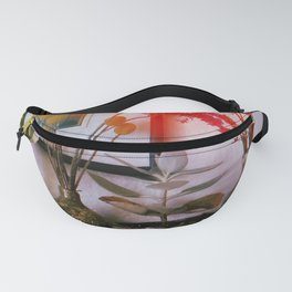 Four Pots and Poppy Fanny Pack