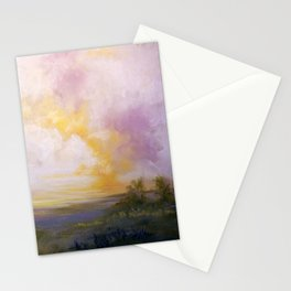 Plénitude d un matin Stationery Cards