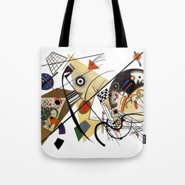 Kandinsky, Traverse Line 1923 Tote Bag