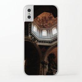 Peak of St Peter's Basilica Clear iPhone Case