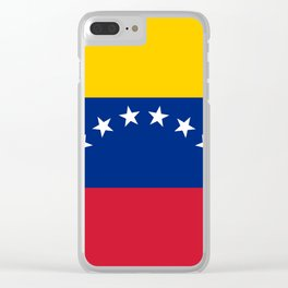Venezuela Flag Clear iPhone Case