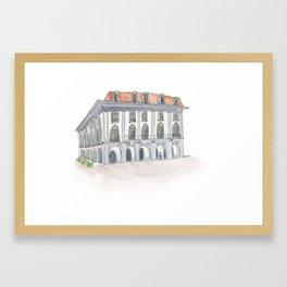 Panama Canal Museum Framed Art Print