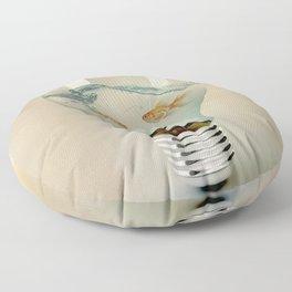 ideas and goldfish 03 Floor Pillow