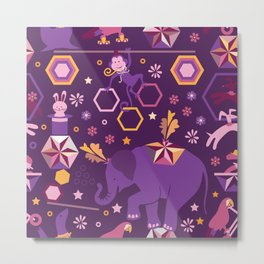 Hexagon circus Metal Print