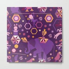 Hexagon circus Metal Print