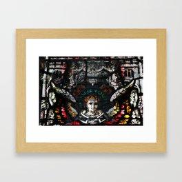 desintegration of the last year's christmas Framed Art Print