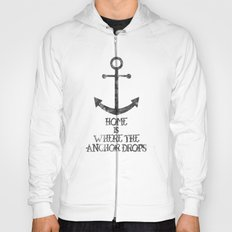 Where The Anchor Drops Hoody