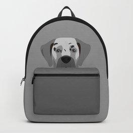 Great Dane Dog Portrait Backpack