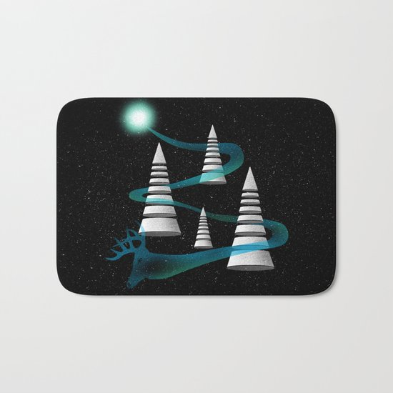 The Other Side Of The Galaxy Bath Mat