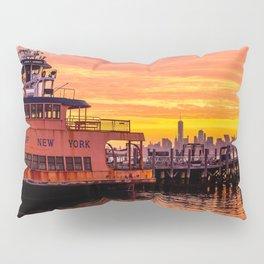 Ferry Boat John F. Kennedy Pillow Sham
