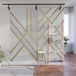 Art Deco Geometry 2 Wall Mural