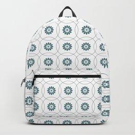 Flower Grid Backpack