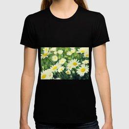 Chamomile flowers T-shirt