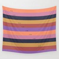 pantone Wall Tapestries featuring Pantone fall - C by carolinegeys