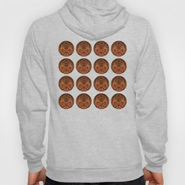 Intense thoughts in bronze shades Hoody