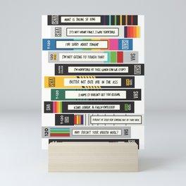 Brooklyn Nine-Nine Sex Tapes Mini Art Print