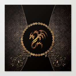 Awesome dragon Canvas Print