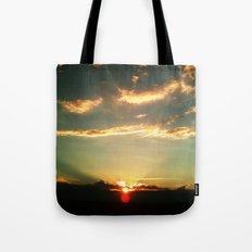 Sunset Blue Tote Bag