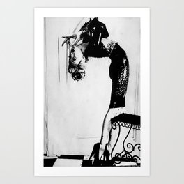 Contorted II Art Print