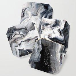 Marble B/W/G Coaster