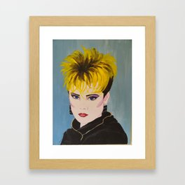 The Eighties Framed Art Print