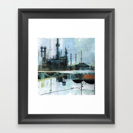 Steel Mecca Framed Art Print