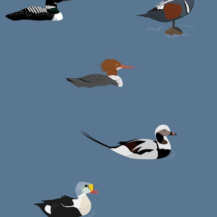 Ducks and a Loon Leggings