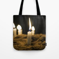 Candle in the Wind Tote Bag