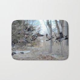 Birds of a feather Bath Mat