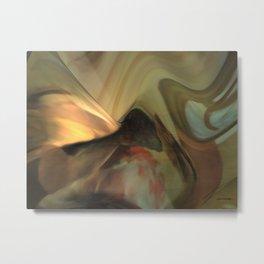 Michelangelo fresco ceiling atmosphere Metal Print