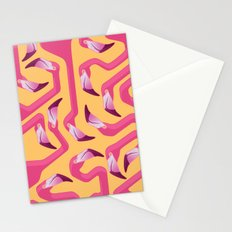 Flamingo Maze Stationery Cards
