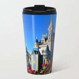Cinderella's Castle from the Side Travel Mug