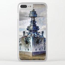 USS Texas Clear iPhone Case