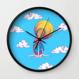 The Extraterrestrial Triumph Wall Clock