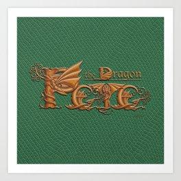 Pete, the Dragon Art Print