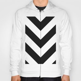 Black and white triangles  Hoody
