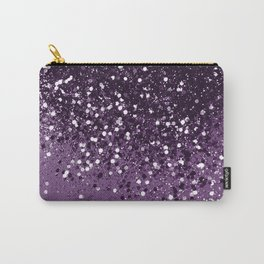 PURPLE Glitter Dream #1 #shiny #decor #art #society6 Carry-All Pouch