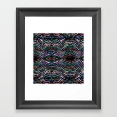 Cheeky Zebra {b} Framed Art Print