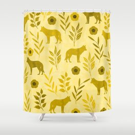 Forest Animal and Nature III Shower Curtain