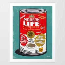 Canned Life Art Print