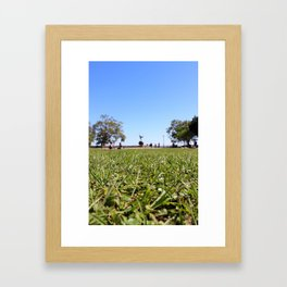 Picnic in the Park Framed Art Print
