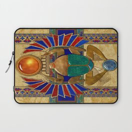 Sarcophagus 3d Egyptian Folk Art Laptop Sleeve