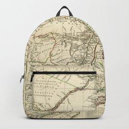 American Revolutionary War Map (1782) Backpack