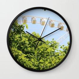 Sky Wheel Wall Clock