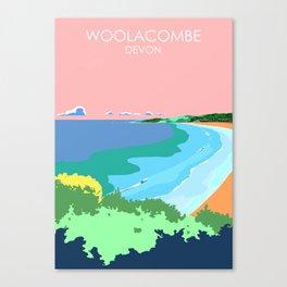 Woolacome Canvas Print