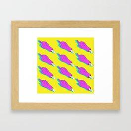 Hands Repeat pattern Framed Art Print