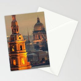 St. Petersburg leningrad Stationery Cards